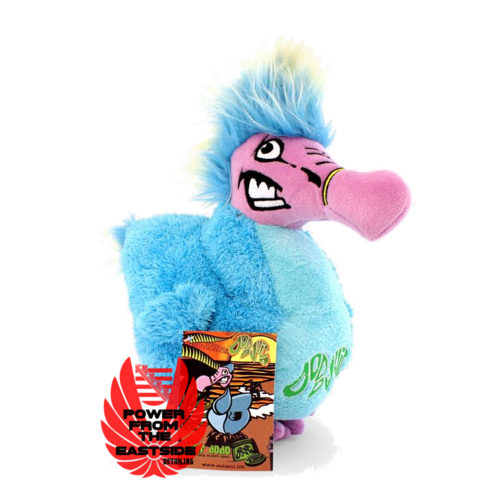Dodo Juice Mr. Skittles the ultimate stuffed mascot DJKFD01 Hand made in Mauritius