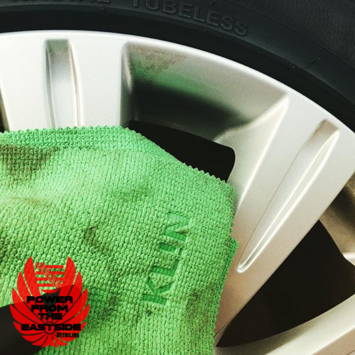 Klin Korea Green Monster Wheel & Engine Cleaner Towel